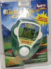 1999 Golden Tee Golf Electronic Game Roller Ball Tiger electronics Handheld New