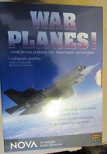 NOVA WAR PLANES , THE EVOLUTION OF MILITARY AVIATION 4 DVDS