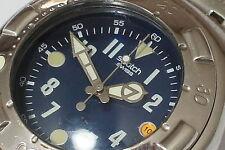 Swatch IRONY SCUBA 200 YDS405G Substance Taucheruhr Herren-Armbanduhr Batt. neu