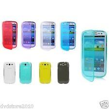 Custodia Cover WALLET TPU per Samsung I9300 Galaxy S III S3 I9305 Morbida