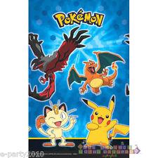 POKEMON Pikachu & Friends PLASTIC TABLECOVER ~ Birthday Party Supplies Charizard