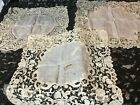 COLLECTION OF LACE PLACE MATS/DOILLIES