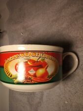 TABASCO SAUCE CHILI MUG BOWL---McILHENNY CO. -FREE SHIP---VGC
