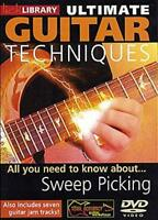 Ultimate Guitar Techniques All You Need To Know About Sweep Picking DVD RDR0064