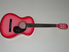 MAGGIE LINDEMANN SIGNED HOT PINK ACOUSTIC GUITAR PRETTY GIRL OBSESSED RARE