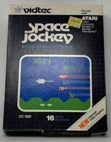 Space Jockey Atari 2600 1982 w/ Box And Manual - Tested 20-223