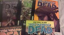The Walking Dead n°1 (blu) -2-3-4-5 + 34(A) + 35(B) Saldapress Robert Kirkman