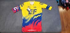 Rapha EF Colombian National Champs Pro Team Aero Jersey Size L RARE LIMITED
