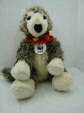 BUILD A BEAR GRAY TIMBER WOLF World Wildlife Fund Series.