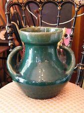 Vase en Céramique Vallauris Clément Massier Golfe Juan AM 1844 1917