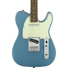 Squier Limited Edition Bullet Telecaster Electric Guitar Lake Placid Blue