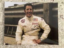 Mario Andretti Signed 8x10 Photo Autographed