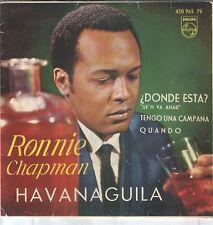 RONNIE CHAPMAN EP Spain 1963 Hava Naguila +3