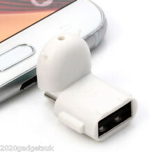 OTG 5 Pin Micro USB To USB Adapter For Mobile Tablet Mouse Keyboard Flash Drive