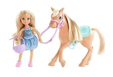 Barbie DYL42 Club Chelsea Dolls and Horse Doll