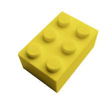 2 Stück LEGO Bau- & Konstruktionsspielzeug Baukästen & Konstruktion 300524 Lego Basic Steine Brick Gelb 1x1 10