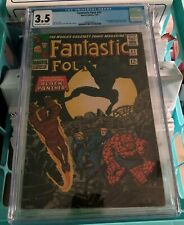 Fantastic Four #52  |  CGC 3.5  |  1st appearance Black Panther | MCU Movies |