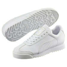 Puma Roma Basic 35357221 Classic White Casual Fashion Mens Shoes Sneakers Sizes