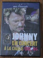 Johnny Hallyday, en concert à la Cigale - Decembre 2006,  DVD neuf