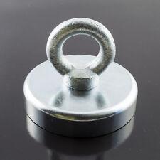 METAL DETECTOR RECUPERO TESORO huting magnete di ferrite 45kg piccoli & forti