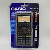 Casio fx-9750GIII Graphing Calculator, Black - New, In Package