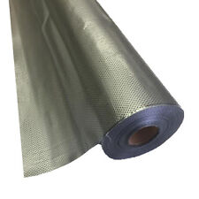 """24"""" x 100 ft Dot Matrix Static Cling Perforated Graphic Window Film - Silver"""