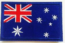 AUSTRALIAN FLAG IRON ON EMBROIDERED PATCH BADGE AUSSIE FLAG BUY 2 GET 1 FREE