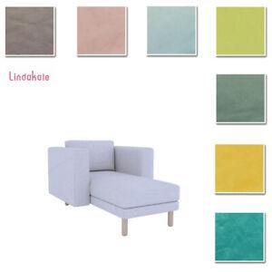 Custom Made Cover Fits IKEA Norsborg Chaise Lounge,Velvet Fabric