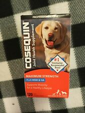 Cosequin DS Plus MSM Joint Health Supplement for Dogs 120 Tablets EXP 03/2023