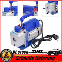Vakuumpumpe Kompressor Pumpe Unterdruckpumpe Klimaanlagen Vacuum 4CFM 5Pa 1/4HP