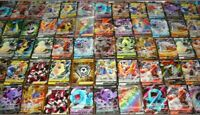 Pokemon Card Lot-10 OFFICIAL TCG Cards GUARANTEED Ultra Rare - GX EX V or SECRET