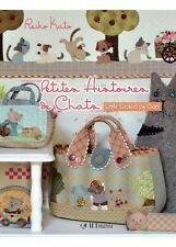 RARE Livre patchwork  Petites histoires de CHATS , Reiko Kato Dernier exemplaire