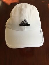 "adidas ""adizero"" ""runboston365.com"" ""competitor."" Adjustable White Golf Hat  TL7"