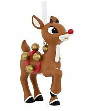 Rudolph the Red-Nosed Reindeer Hallmark Christmas Ornament - Santa Sleigh Bells