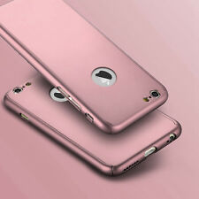 Shockproof 360 Hybrid Silicone Case Cover for Apple iPhone X 8 7 6s Plus iPhone 5 5s Rose Gold