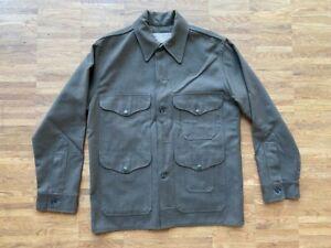 Filson Mackinaw Cruiser  Forrest Green Gr. M L 50 40 Made in USA Jacke grün