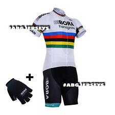 NEW 2017 BORA HANSGROHE UCI SAGAN JERSEY BIB HOBBY SET CYCLING TOUR DE FRANCE
