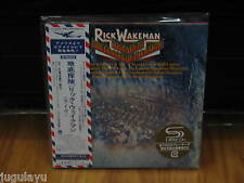 RICK WAKEMAN JOURNEY TO THE CENTER OF THE EARTH RARE OOP JAPAN MINI-LP SHM-CD