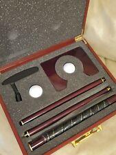 Golf Wooden Box Set Travel Putter Kit