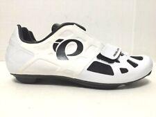 Pearl Izumi Elite Road IV Carbon Cycling Shoes 3-Bolt White Mens Size EU39/US6.5
