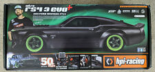 HPI Nitro RS4 3 Evo+ 1969 Mustang without engine