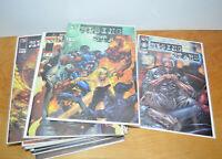 RISING STARS Comic Book Run Lot Prelude Issues 1-17 Top Cow Straczynski 1999