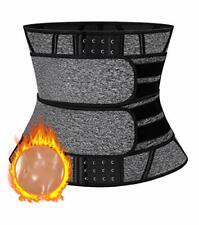 MISS MOLY Waist Trimmer Neoprene Sauna Sweat Belt Waist Trainer Cincher Slimming