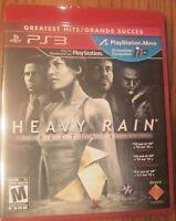 HEAVY RAIN DIRECTOR'S CUT NEW Sony PLAYSTATION 3 PS3