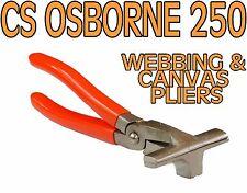 CS OSBORNE 250 WEBBING/CANVAS PLIERS