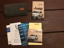 2011 Jeep Compass Owners Manual With Case And New Dvd Oem Free Shipping