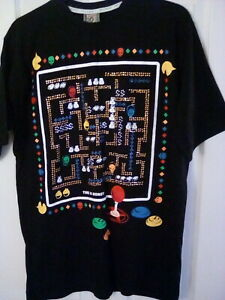 PAC MAN BLING GAMING Time Is Money T-shirt XL