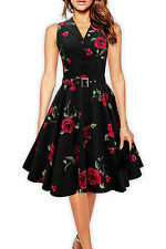 Cotton V-Neck Women's Special Occasion Midi