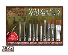 The Army Painter: MEGA Set di Pennelli / Wargames MEGA Brush Set
