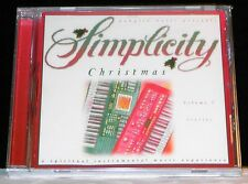 Simplicity Christmas Volume 9 Ivories cd NEW!